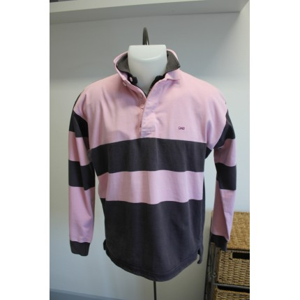 "Polo manches longues ""Oval Back"""