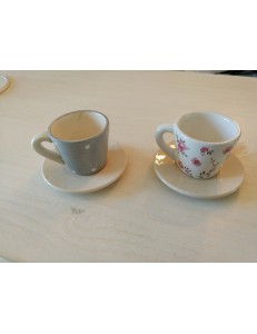 "Lot de 2 bougeoirs ""Tasse"""